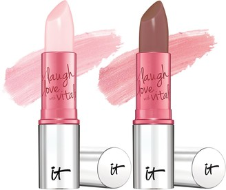 It Cosmetics Vitality Lip Flush 4-in-1 Lipstick Stain Duo