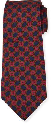 Kiton Men's Silk Ovals Tie