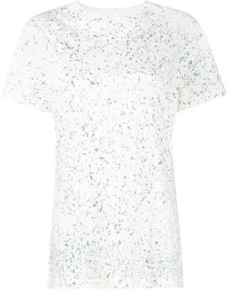 Eckhaus Latta paint splatter effect T-shirt