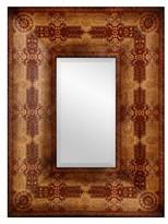 Oriental Furniture Olde-Worlde Baroque Style Mirror - Brown