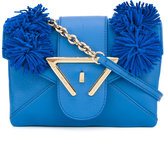 Sara Battaglia Roxy crossbody bag - women - Calf Leather/Polyester - One Size