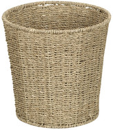 Household Essentials Seagrass Trash Can