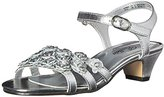 Jumping Jacks Shimmer Dress Sandal (Little Kid/Big Kid)
