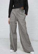 Hope grey check mass trouser