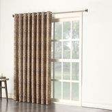 Sun Zero Galaxy Room Darkening Patio Door Curtain - 100'' x 84''