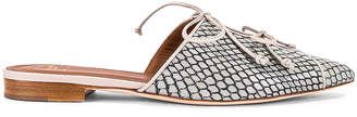 Malone Souliers Victoria MS Flat in Peppermint & Grey | FWRD