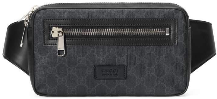 c926ecf579 GG Black belt bag