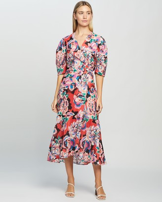 Ginger & Smart Flourish Wrap Dress