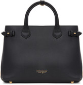 Burberry Black Medium Banner Tote