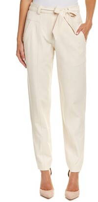 Rebecca Taylor Women's Belted Suit Pant