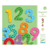 Djeco 38 Magnetic Numbers