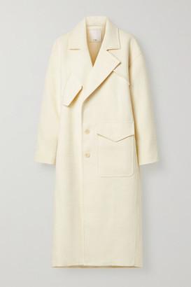 Tibi Oversized Tweed Coat - Ivory