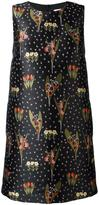 RED Valentino floral pattern shift dress - women - Polyester/Acetate - 40