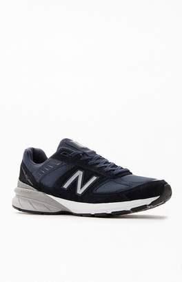 New Balance Navy 990v5 Made in US Shoes
