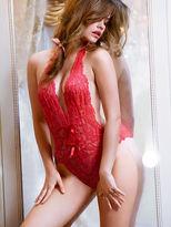 Victoria's Secret Dream Angels Lace Plunge Teddy
