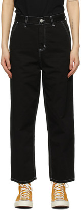 Carhartt Work In Progress Black Twill Armanda Trousers