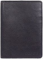 Coach Men's Leather Passport Case Wallet