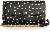 Dolce & Gabbana Polka-dot print leather cross-body bag