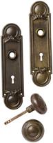 Rejuvenation Revival Style Steel Door Knobs Set