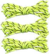 """DailyShoes Round Hiking Boot Shoelaces Strong Durable Stylish Shoe Laces (Great for Bridesmaid) 27"""" inch (69 cm)"""