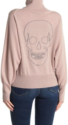 Zara Skull Back Turtle Neck Sweater