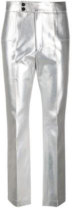 Philosophy di Lorenzo Serafini Metallic Straight-Leg Trousers