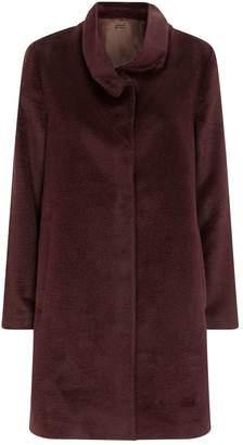Eileen Fisher Alpaca Wool-Blend Coat