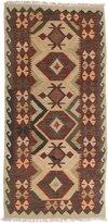 Ecarpetgallery Hand-woven Sivas Geometric 3' x 6' 100% Wool area rug