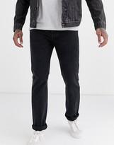 Levis Skateboarding Levi's Skateboarding 501 jeans in black