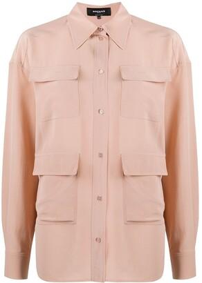 Rochas Four-Pocket Silk Shirt