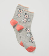 LOFT Bloom Ankle Socks