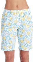 Jockey Women's Pajamas: Printed Bermuda Sleep Shorts