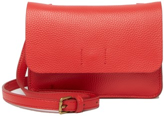 Melrose and Market Carrie Wos Leather Crossbody Bag