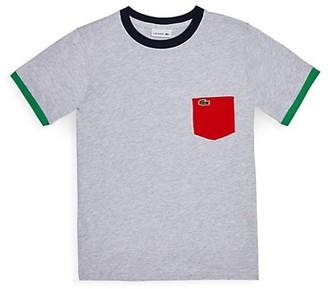 Lacoste Little Boy's & Boy's Pocket T-Shirt