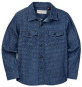 Sovereign Code Hunsinger Long Sleeve Woven Shirt (Toddler & Little Boys)
