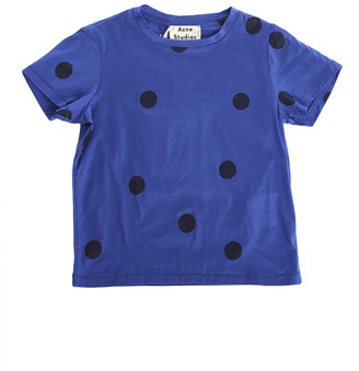 Acne Studios Mini Strong Blue Dot Tee