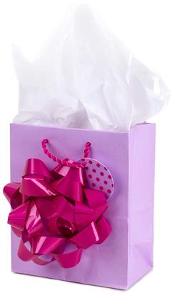"""Hallmark Giant Bow"""" Small Gift Bag with Tissue Paper"""