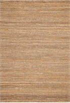 """D Style Natural Jute Pewter 5' x 7'6"""" Area Rug"""