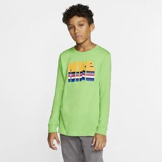 Nike Big Kids' Long-Sleeve T-Shirt Sportswear