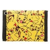 Bioworld Pokemon Pikachu Trifold Velcro Wallet