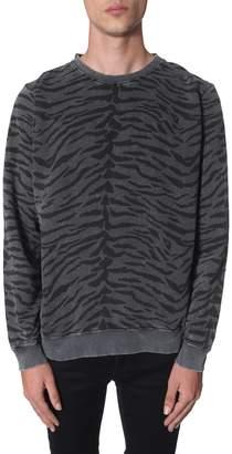 Saint Laurent round neck sweatshirt