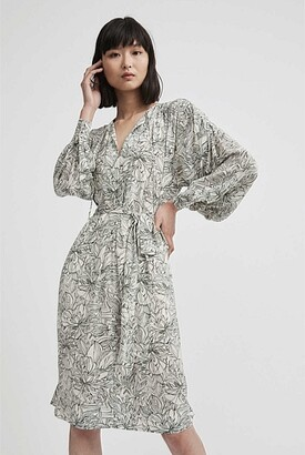 Witchery Raglan Print Dress