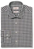 Merona Men's Ultimate Dress Shirt Charcoal Check