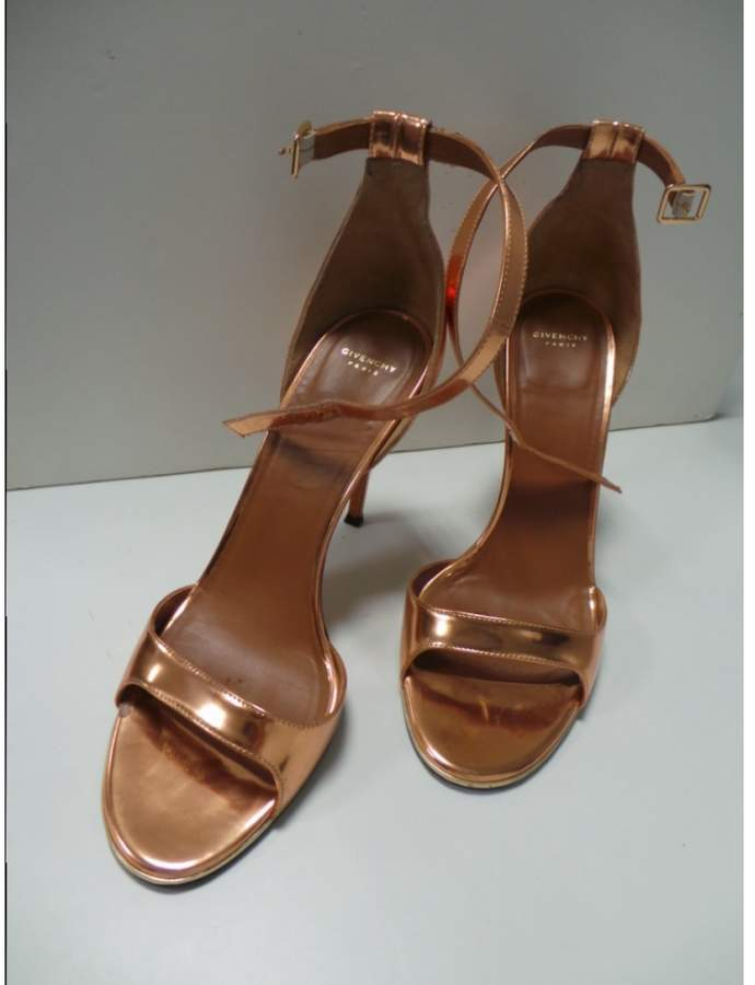 Givenchy Pink Leather Sandals