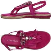 Apepazza Toe strap sandals - Item 11364400