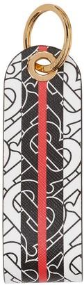 Burberry Monogram stripe key ring