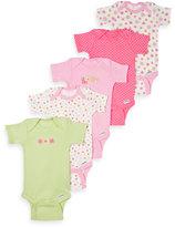 Gerber Short Sleeve Onesies® One Piece Pink Underwear - 0 to 3 Months