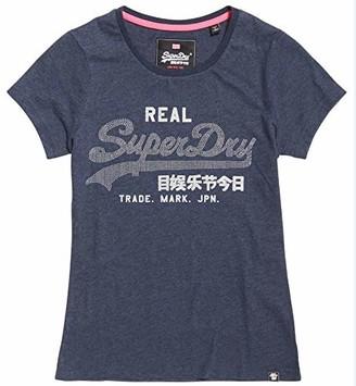 Superdry Women's Vintage Logo Rhinestone Entry T-Shirt