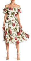 Betsey Johnson Floral Midi Dress
