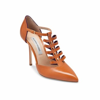 Alexis Isabel Alter Ego Leather Camel High Heel Shoes
